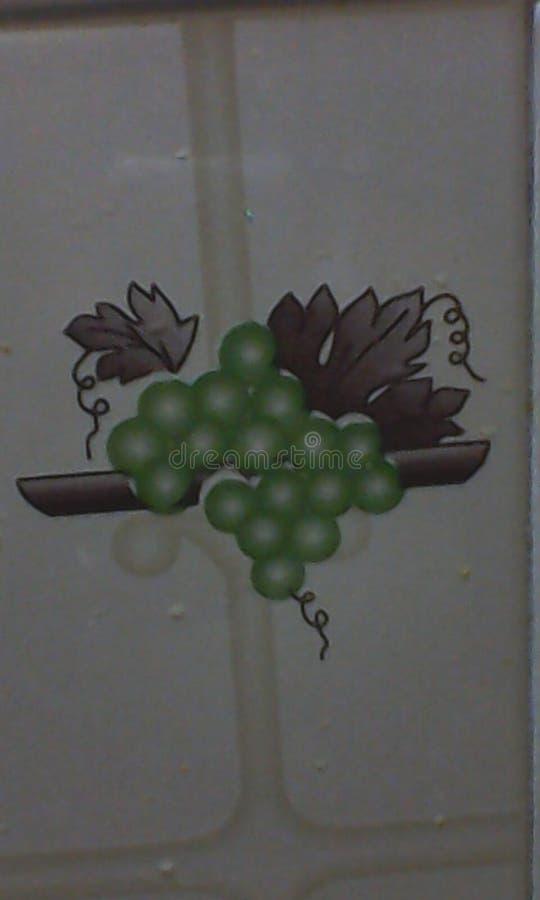 Druiven en sprongen froot standup vers stock fotografie