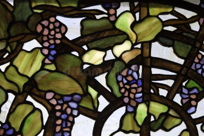 Druiven in Glas royalty-vrije stock foto's