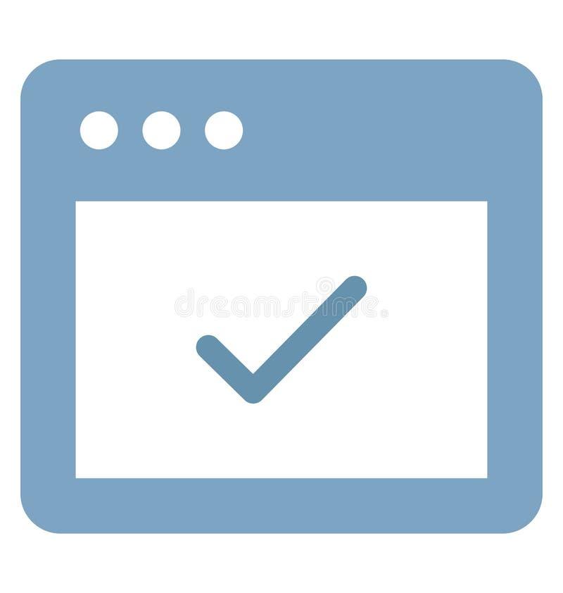Druk Toegelaten Vector met betrekking tot Webbrowservensters en volledig editable vector illustratie