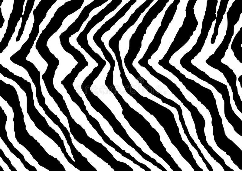 druk zebra ilustracja wektor