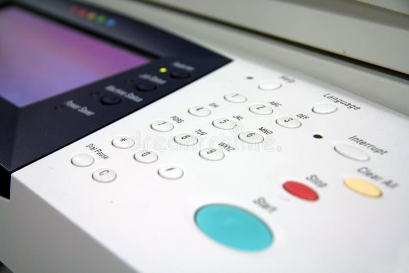 drukarka faksu kopiarek zdjęcia royalty free