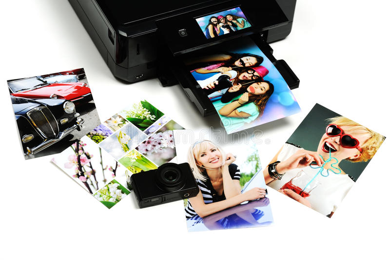 drukowania zdjęć zdjęcia royalty free