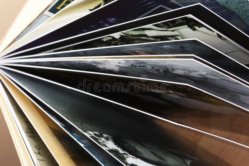 drukująca albumowa fotografia zdjęcie stock