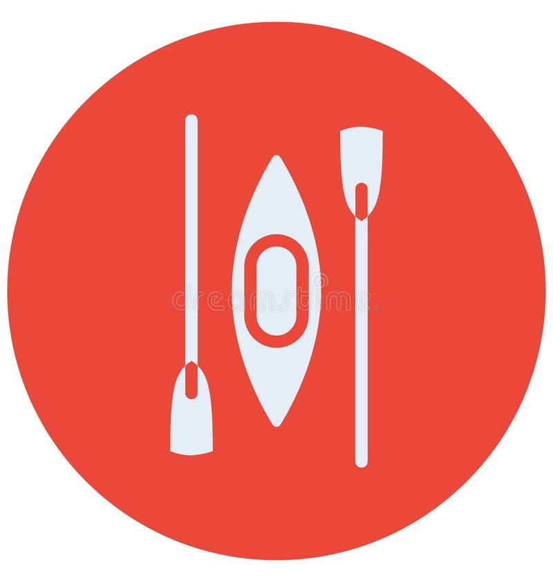 Drukuje wodniactwo Odizolowywającą Wektorową ikonę która może modyfikować wodniactwo Odizolowywającą Wektorową ikonę redagować lu ilustracja wektor