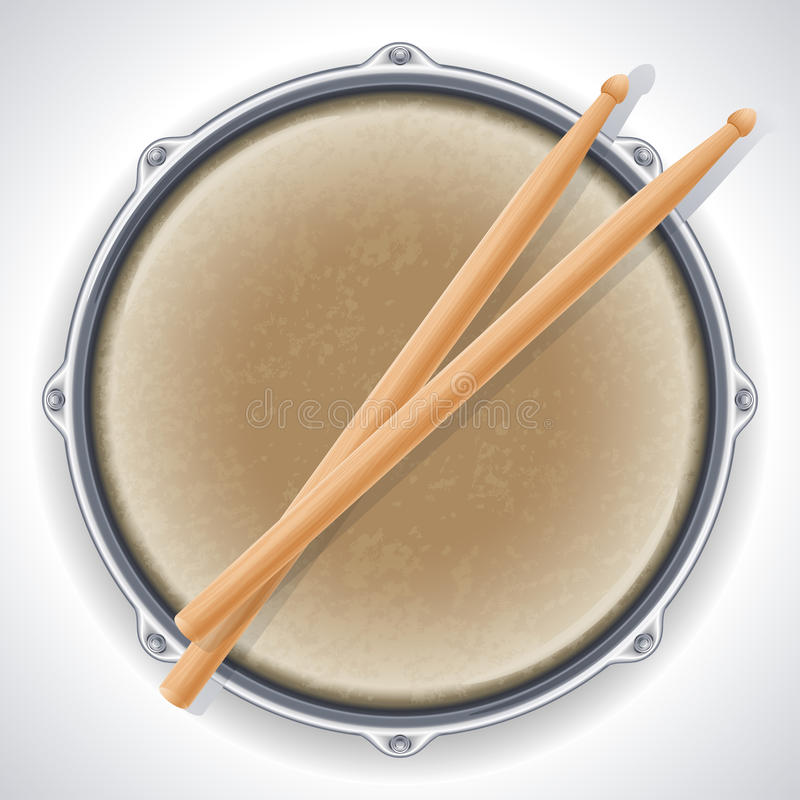 Download Drum stock vector. Image of drum, sound, color, vector - 20760758