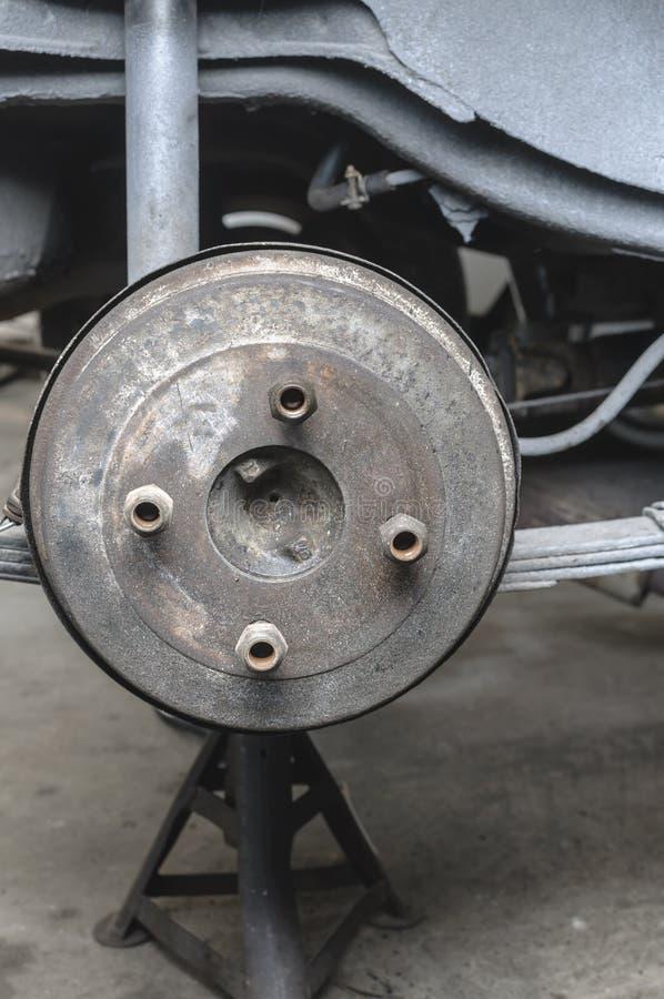 Download Drum brake stock image. Image of classic, grey, metal - 27205947