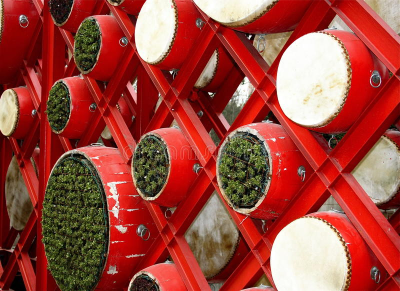 Drum for Chinese new year royalty free stock photography