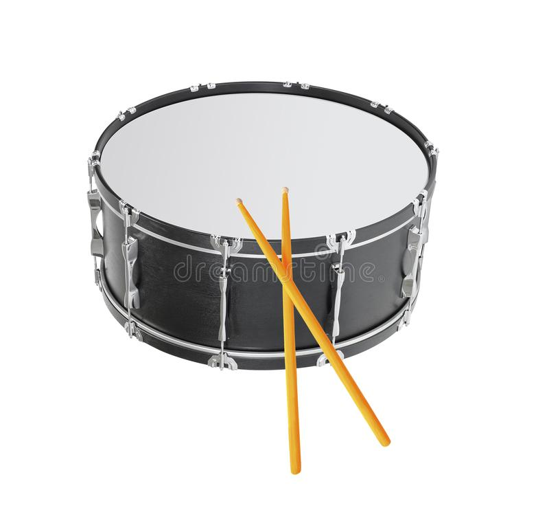 Drum isolated royalty free stock image