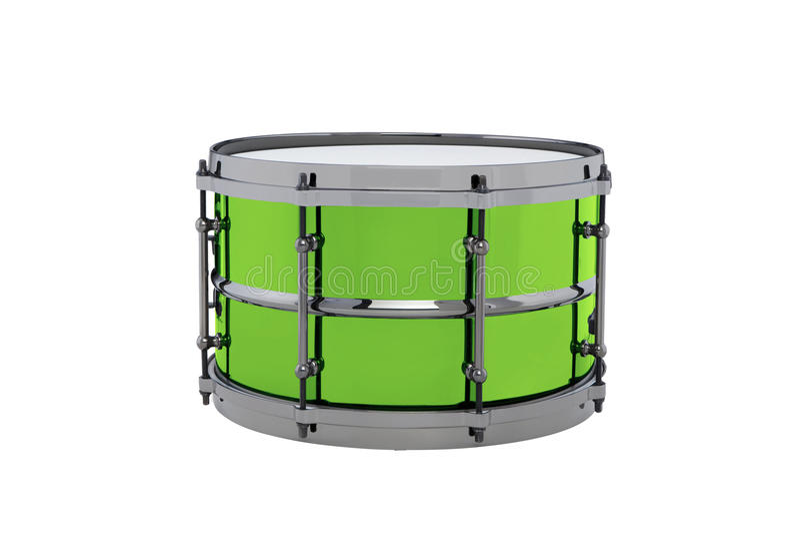 Drum isolated stock image