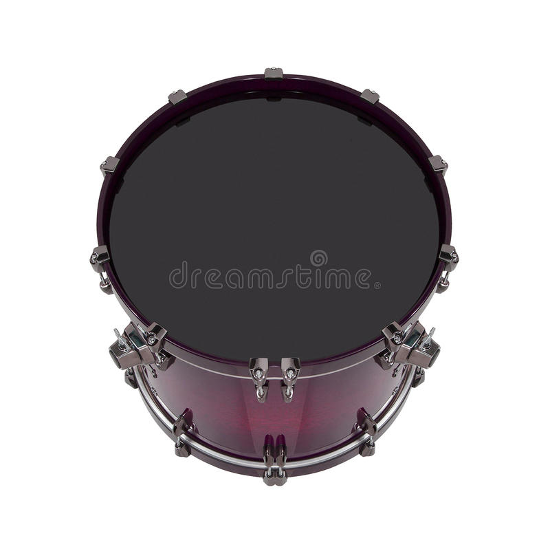 Drum isolated royalty free stock images