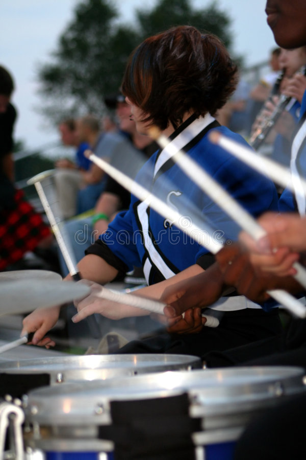 Free Drum Line Royalty Free Stock Photography - 1754447