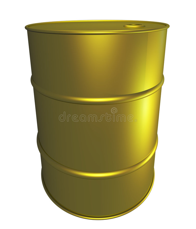 drum nowego oleju royalty ilustracja