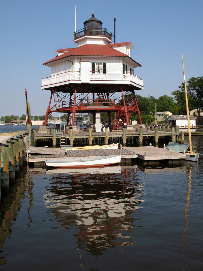 Free Drum Point Lighthouse-Maryland Stock Photography - 2544562