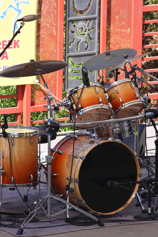 Drum Set Royalty Free Stock Images
