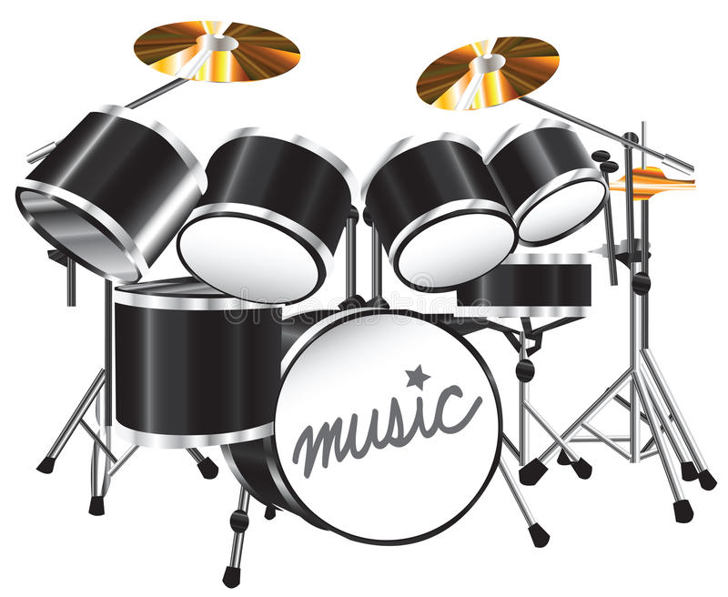 Drum_set stockbild