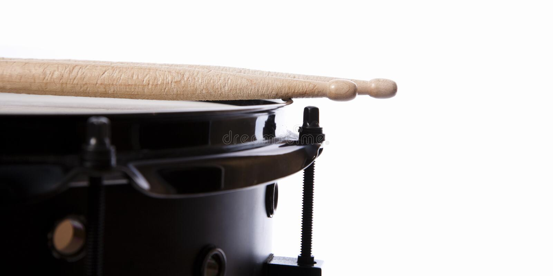 Drum & Stick Stock Photography
