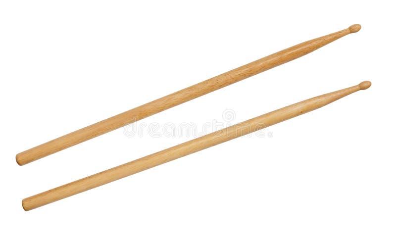Drum stick isolated on white background stock photo