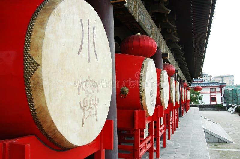 Drum Tower of Xian,China stock photos