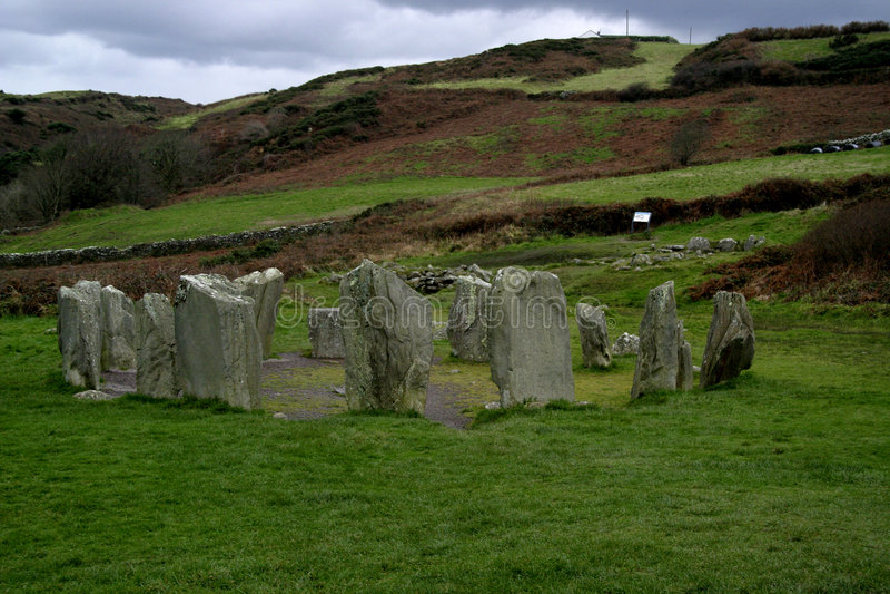 Drumbeg Circle nr Cork, Ireland royalty free stock image