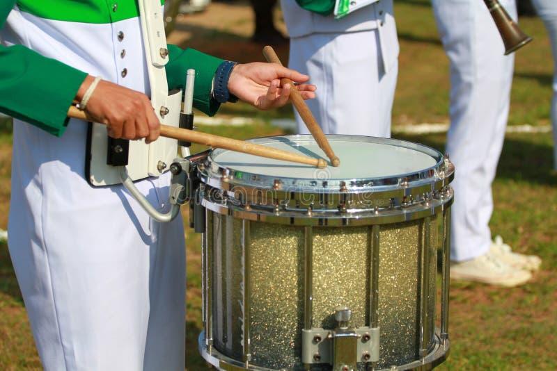 Drumer image stock