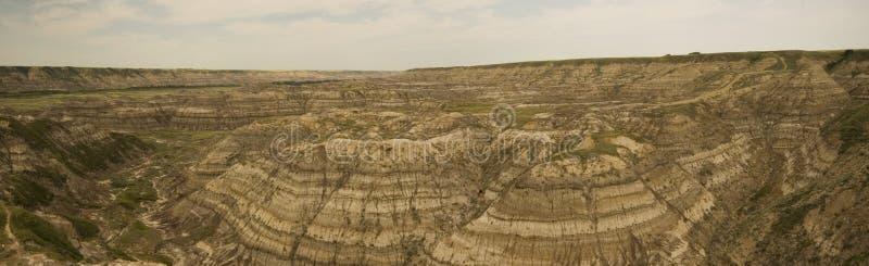 Drumheller - voleur Canyon de cheval image libre de droits