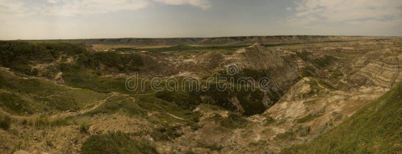 Drumheller - voleur Canyon de cheval photos libres de droits