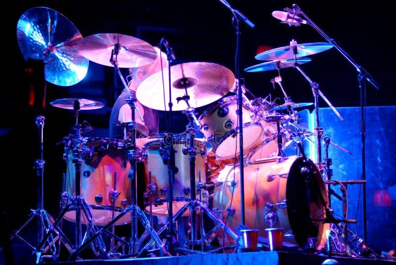Download Drummer stock image. Image of drummer, drum, cymbals, drumstick - 5225281