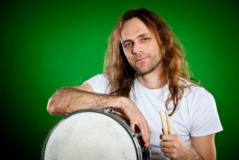 Download Drummer Man Royalty Free Stock Photos - Image: 22841788