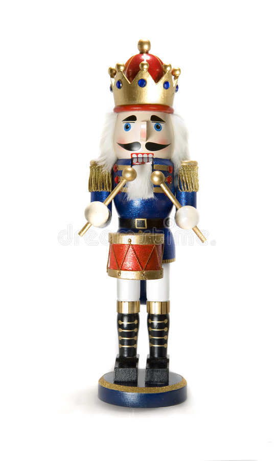 Drummer nutcracker stock photos