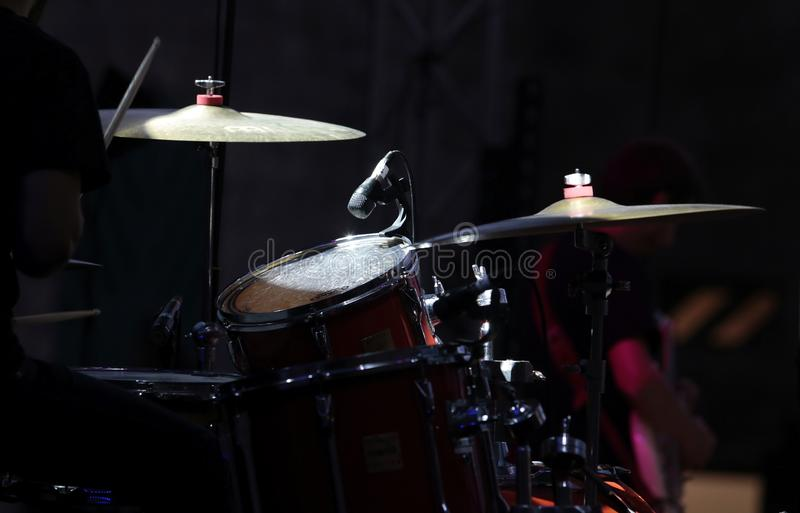 Drummer set royalty free stock photos