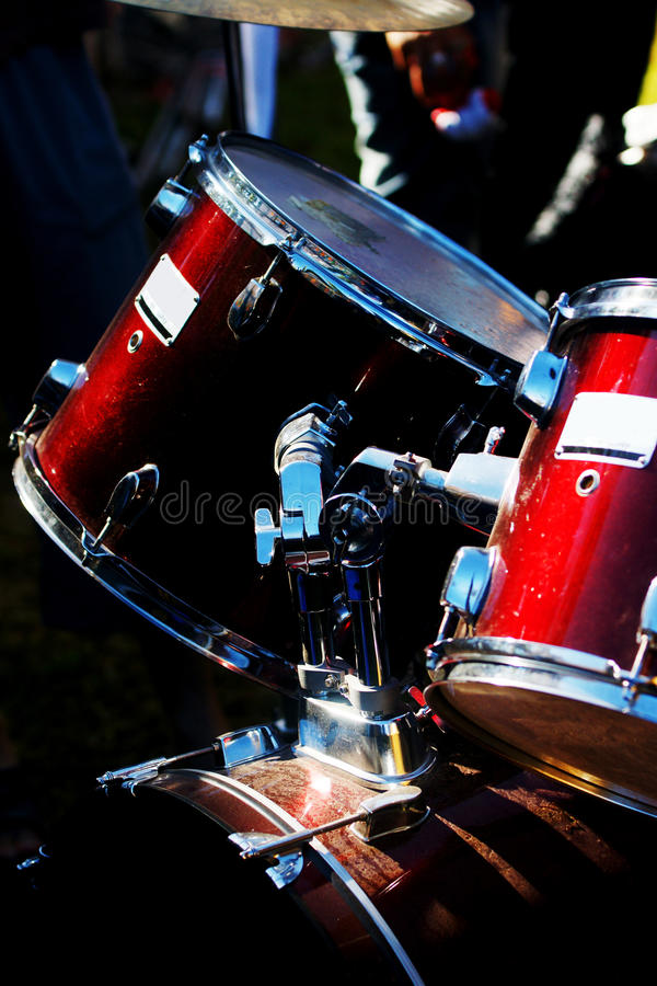 Free Drums Royalty Free Stock Image - 12048296