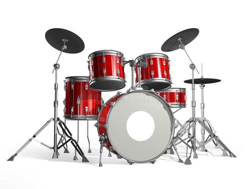 Drums stock illustration
