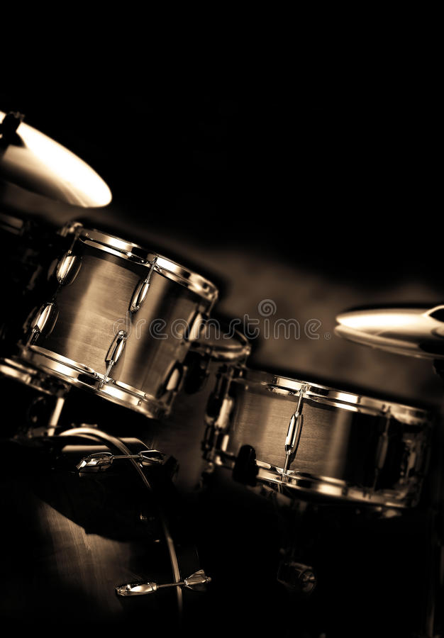 Drums royalty free stock image