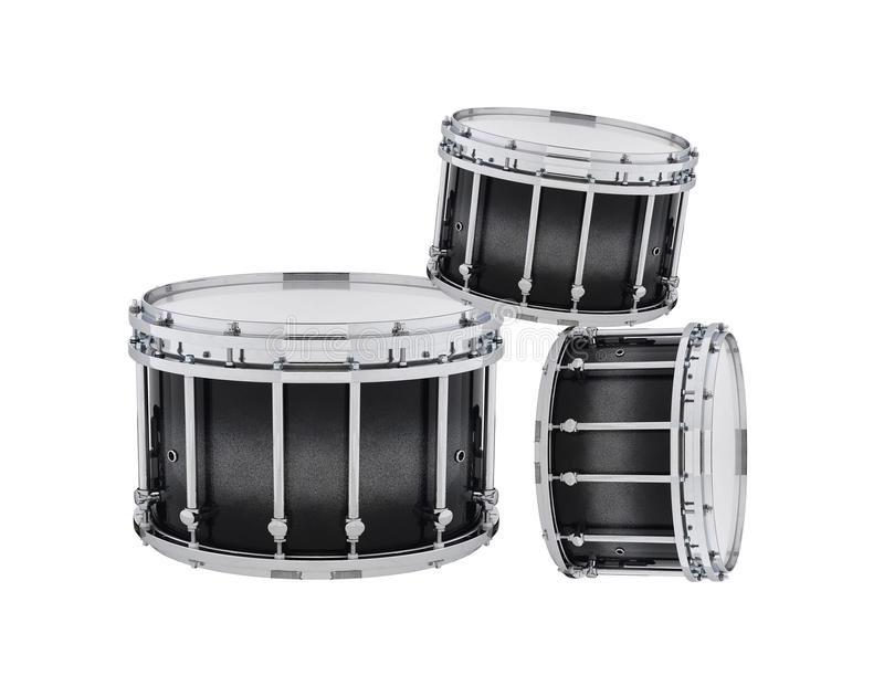 Drums isolated royalty free stock images