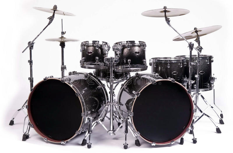 drums satsen royaltyfri foto
