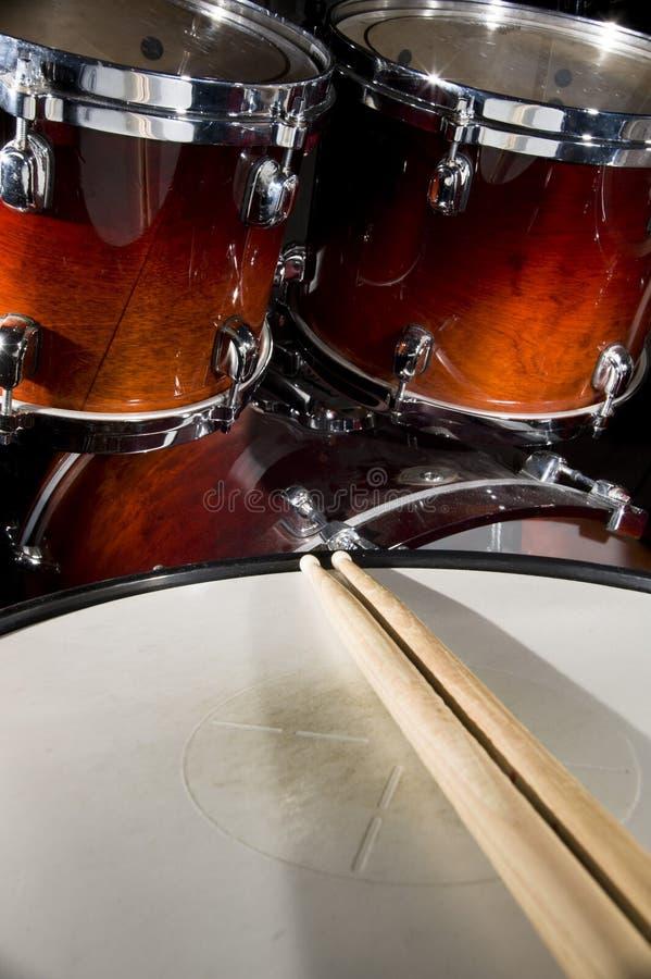 Drumset foto de stock