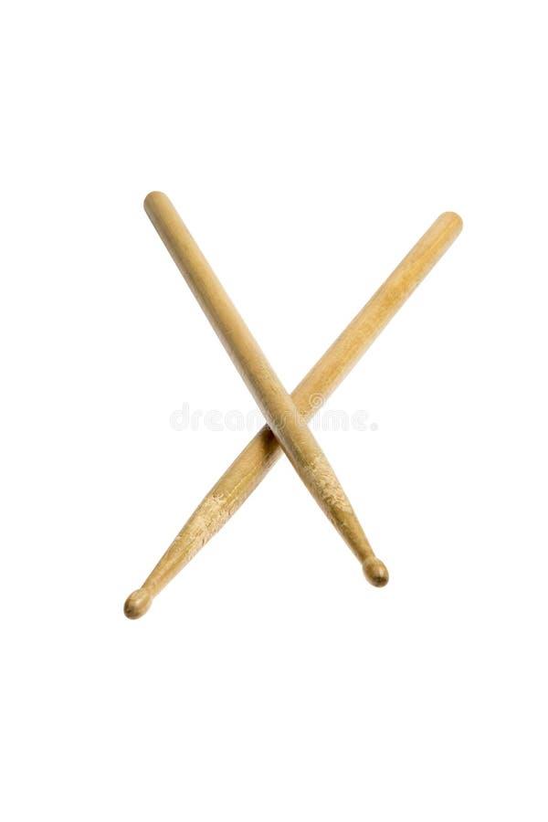 Drumsticks zdjęcia stock
