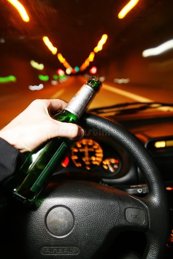 Drunk stock image