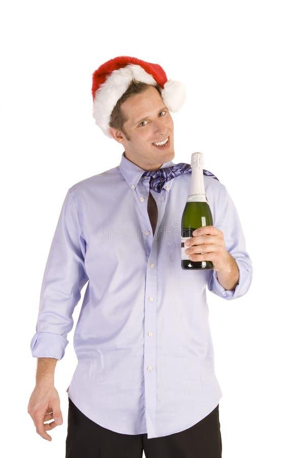 Drunk Businessman stock image