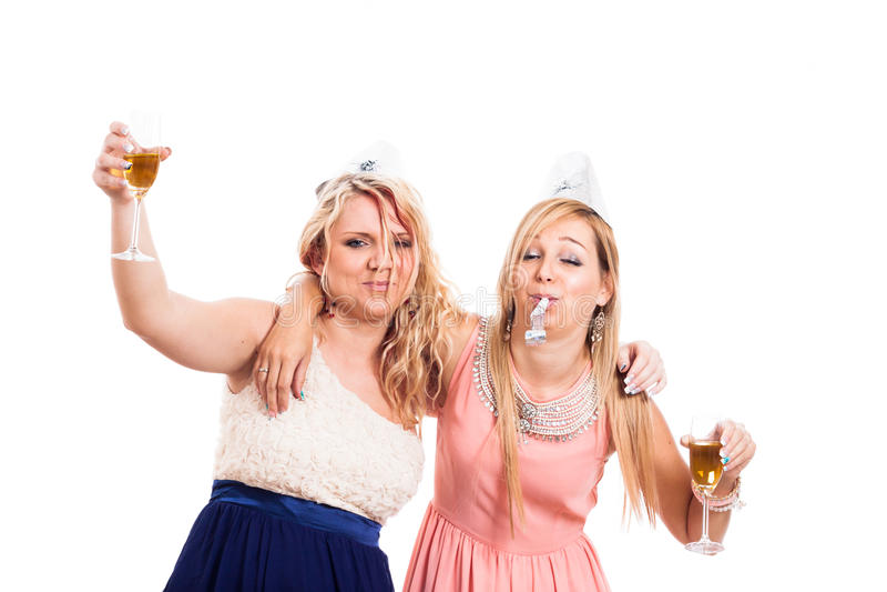 Download Drunk girls celebrate stock image. Image of drunken, people - 31112991