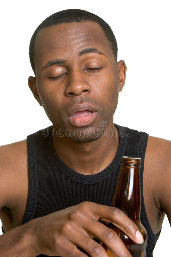 Download Drunk Man stock image. Image of white, background, young - 5517997