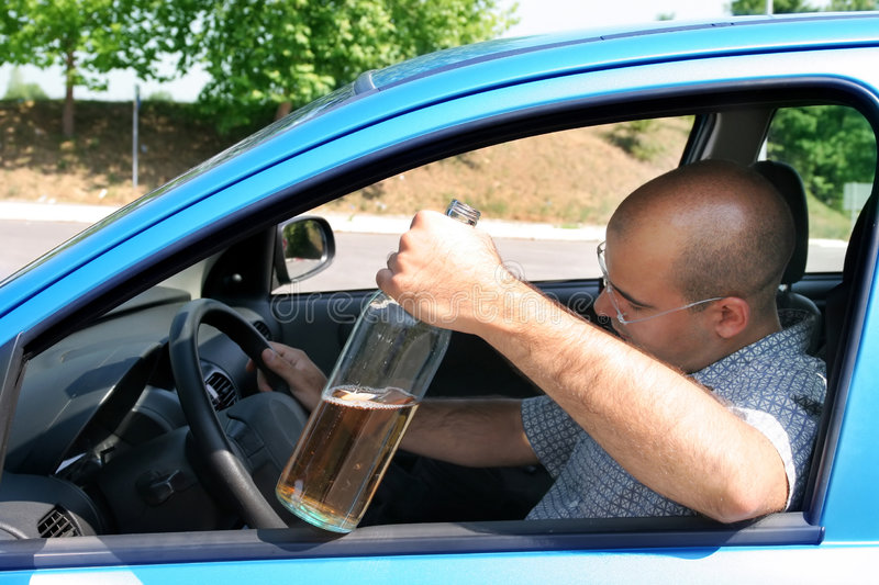 Download Drunk Man In Drivers Stock Photography - Image: 3003832