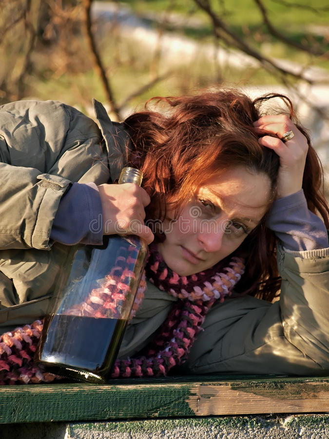 Download Drunk woman 2 stock photo. Image of assistance, girl - 21318370
