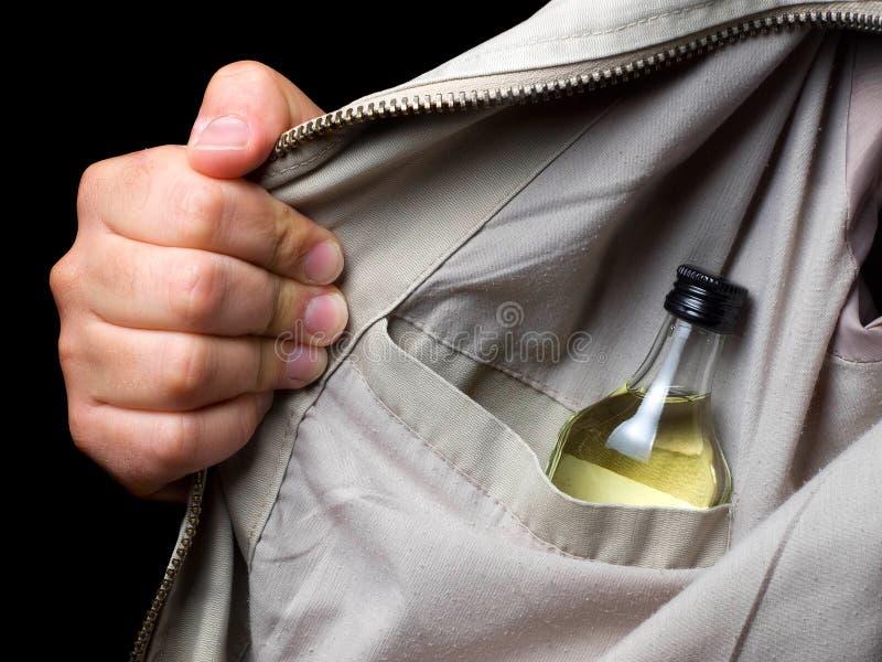 Drunkard immagine stock libera da diritti