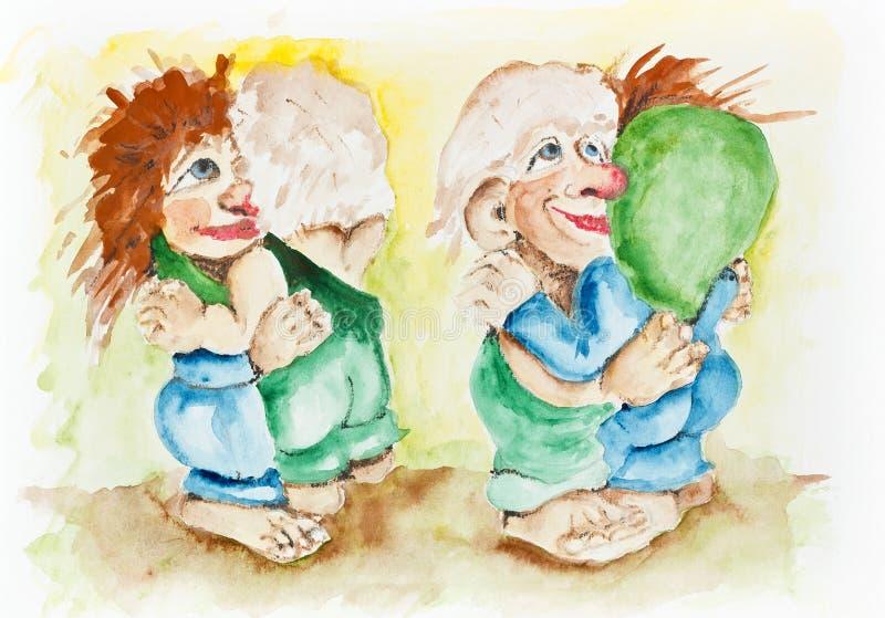 Download Drunken Dance Of The Goblins Stock Illustration - Illustration: 30549973