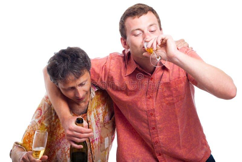 Download Drunken Men Drinking Alcohol Stock Photo - Image: 26082556