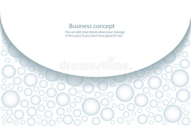 Druppeltje van regenwater, waterdalingen op witte vectorillustratie als achtergrond vector illustratie