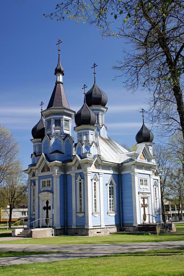 Download Druskininkai Church (Lithuania) Stock Photo - Image of grass, orthodox: 451344