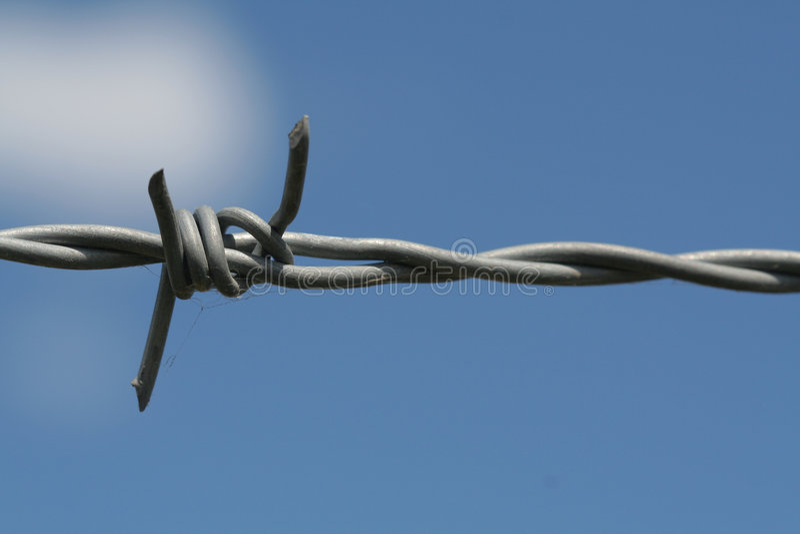 drut kolczasty fotografia stock