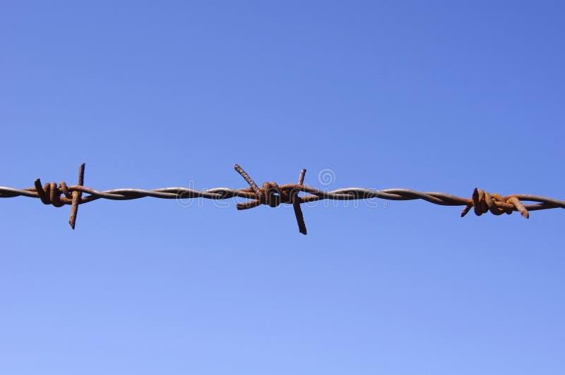 drut szczegółu ogrodzenia drut zdjęcie stock